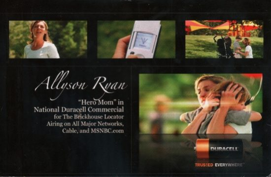 allyson ryan postcard