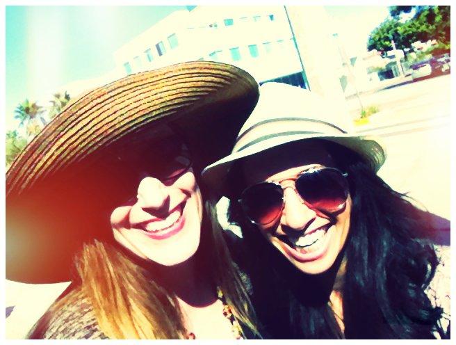 Bonnie Gillespie with Helenna Santos Levy