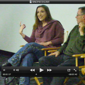 CastingAbout Event Bonnie Gillespie with Gary Marsh