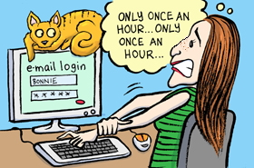 bonnie gillespie check email once an hour by chari pere
