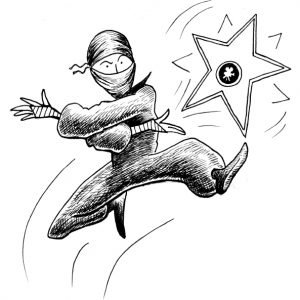smfa ninja throwing star by chari pere