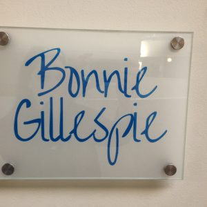 awesome office sign bonnie gillespie