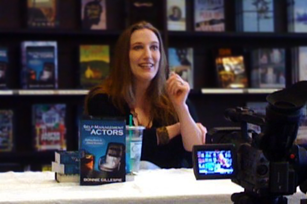 bonnie gillespie at barnes and noble book signing