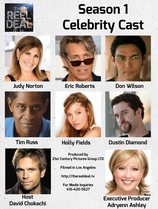 The Reel Deal Celebrity Cast