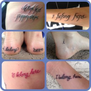Inaugural SMFA Escape 2015 Tattoos