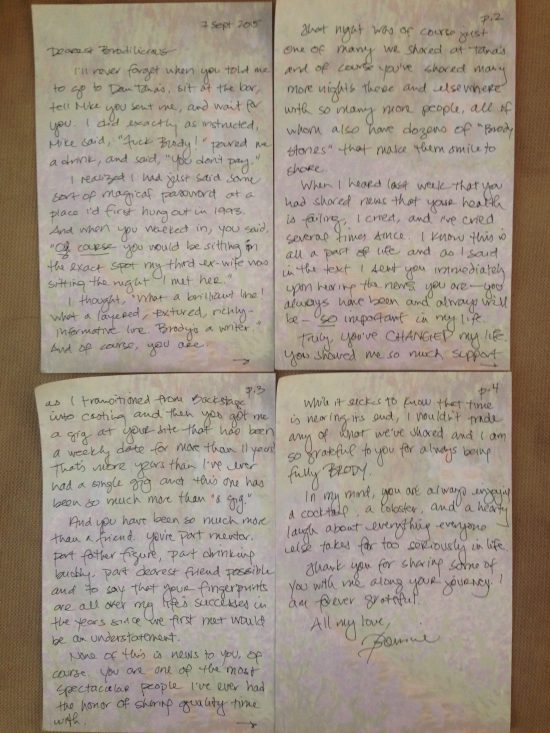 last letter to brody