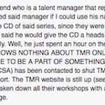 tmr blog post manager to cd