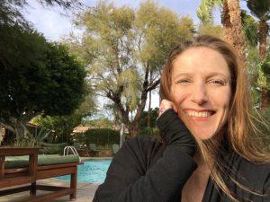 Bonnie Gillespie at Hacienda Hot Springs Inn November 2016