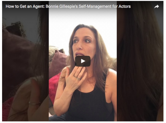 how to get an agent screengrab bonnie gillespie