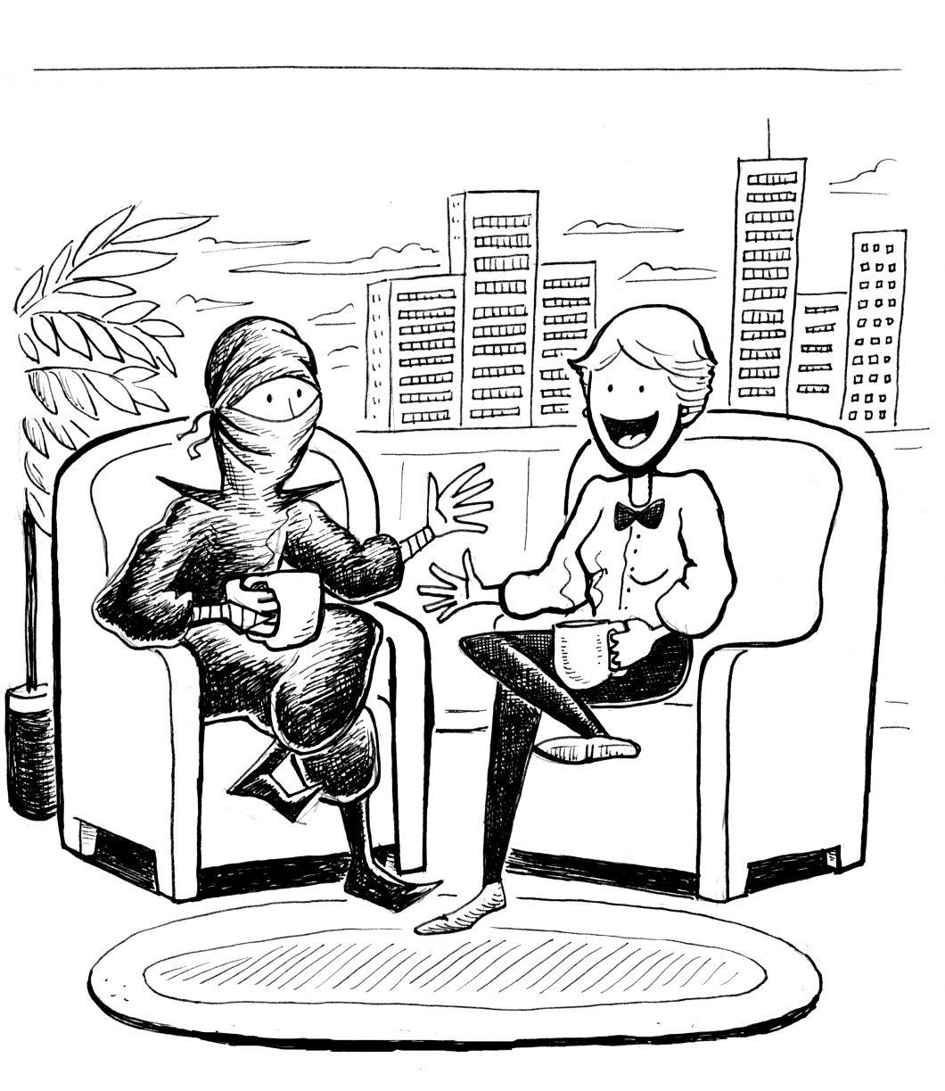 smfa ninja ellen interview by chari pere