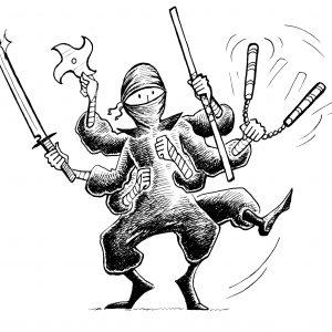 smfa ninja tools by chari pere