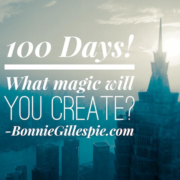 100 days magic bonnie gillespie