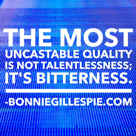 bitterness uncastable bonnie gillespie