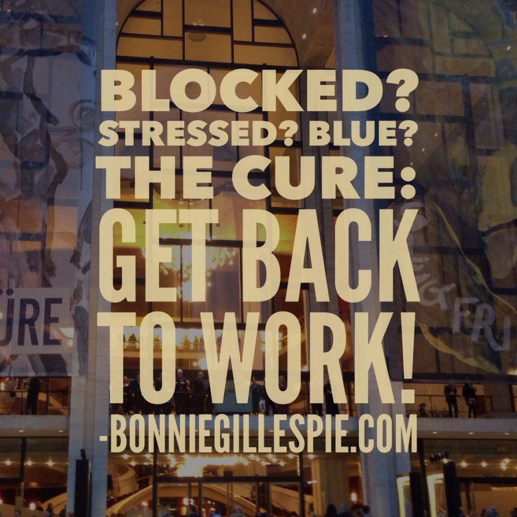 blocked get back to work bonnie gillespie