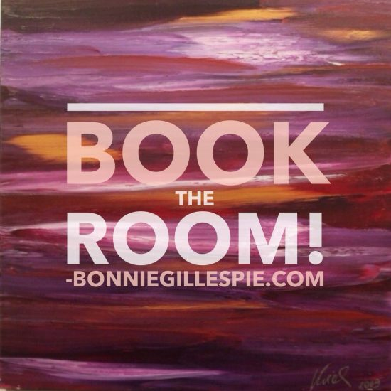 book the room bonnie gillespie