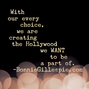 creating the hollywood we want to be a part of bonnie gillespie