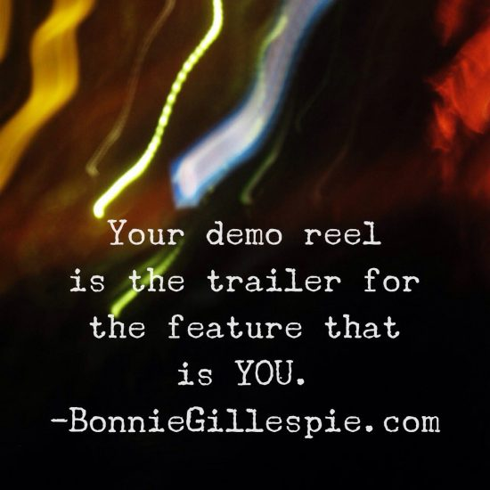 demo reel trailer for feature that is you bonnie gillespie