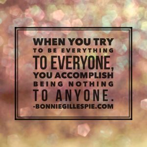 everything to everyone bonnie gillespie
