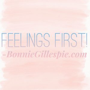 feelings first bonnie gillespie