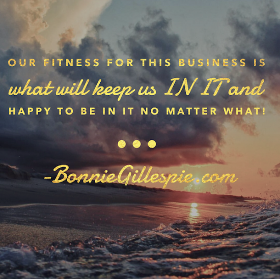 fitness for this business bonnie gillespie