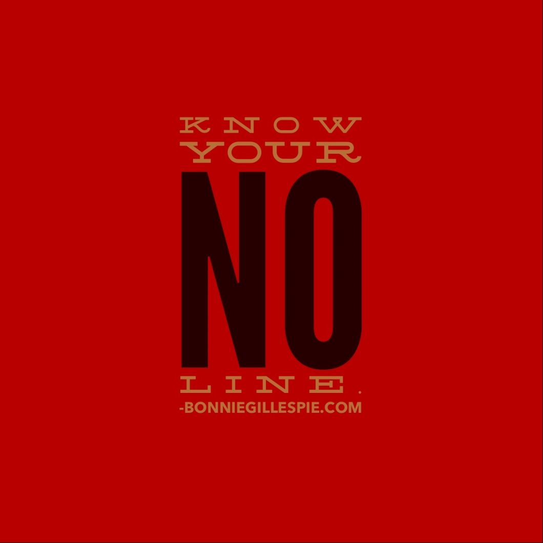 know your no line bonnie gillespie