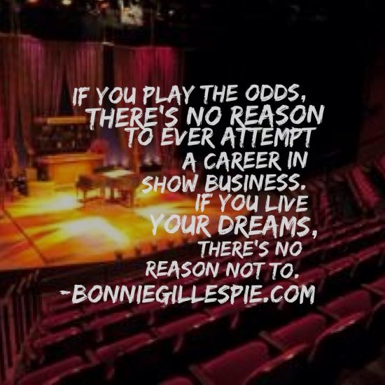 play the odds live your dreams bonnie gillespie