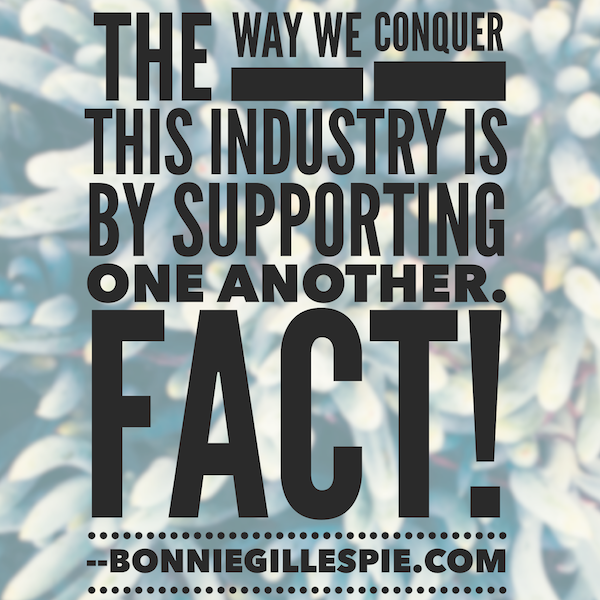 support one another bonnie gillespie
