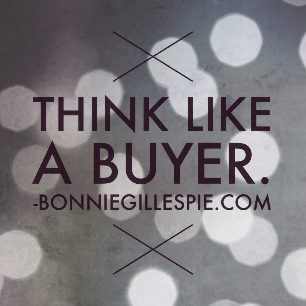 think like a buyer bonnie gillespie