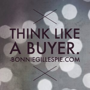 think like a buyer bonnie gillespie