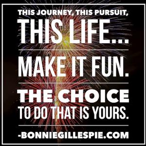 this life is fun bonnie gillespie
