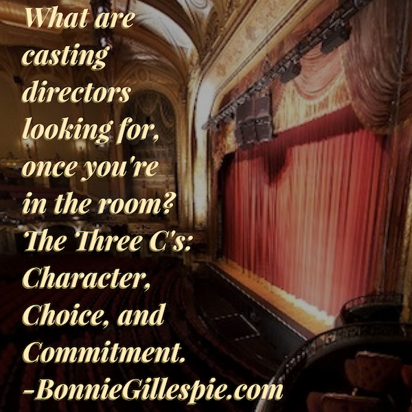 three cs of casting bonnie gillespie