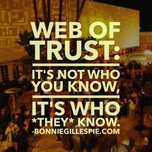 web of trust bonnie gillespie