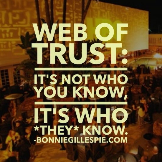 web of trust bonnie gillespie