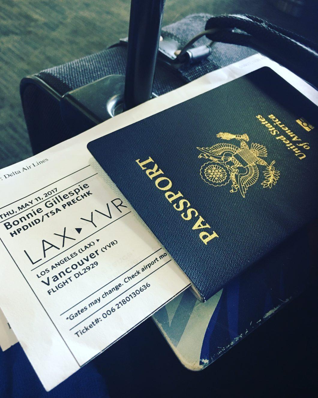 bonnie gillespie passport yvr