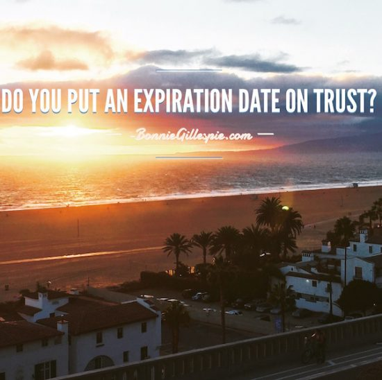 expiration date on trust bonnie gillespie