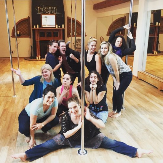Bonnie Gillespie Hosts the NY SMFA Ninjas Pole Party at Incredipole