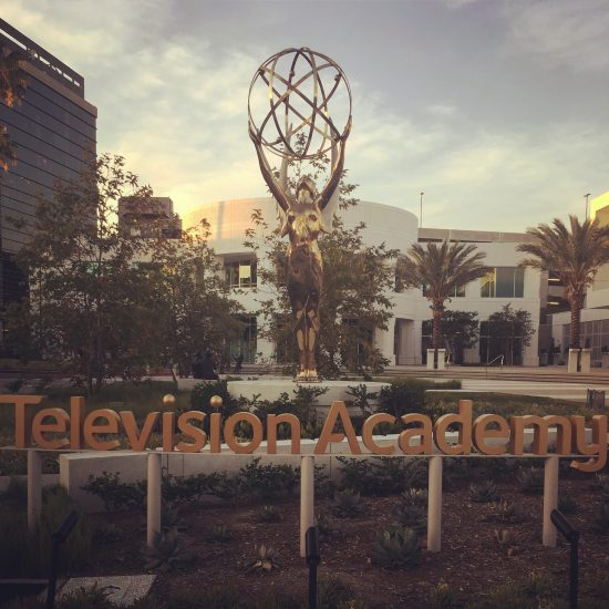 TV Academy Front Yard