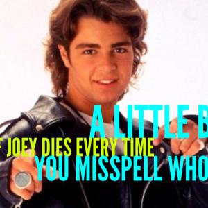 a little bit of joey lawrence dies whoa bonnie gillespie