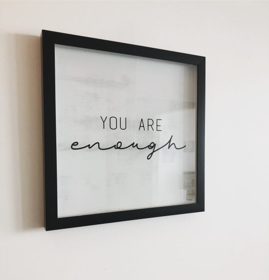you are enough toronto condo bonnie gillespie