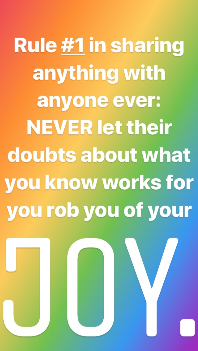 dont let others rob your joy bonnie gillespie