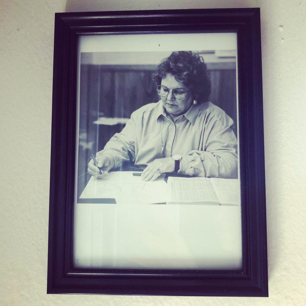 Charlsie Gillespie, astrologer, 1986