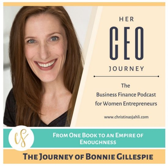 Bonnie Gillespie on Christina Sjahli Podcast Her CEO Journey