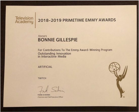 Bonnie Gillespie, Emmy Winning Casting Director