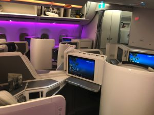 Fiji Airways Business Class A350 Nadi to LAX by Bonnie Gillespie
