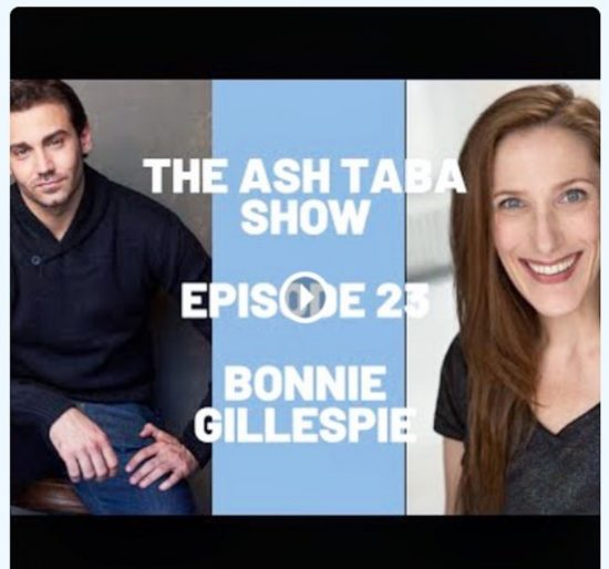 bonnie gillespie on the ash taba show