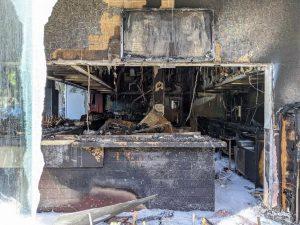Burned -- Sake House in Santa Monica, June 1, 2020