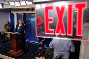 exit stage left you narcissistic cheeto