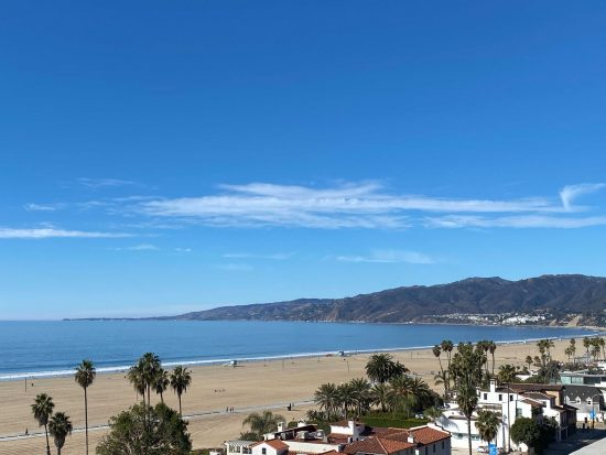 christmas day in santa monica 2020 by keith johnson