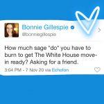 sage white house bonnie gillespie