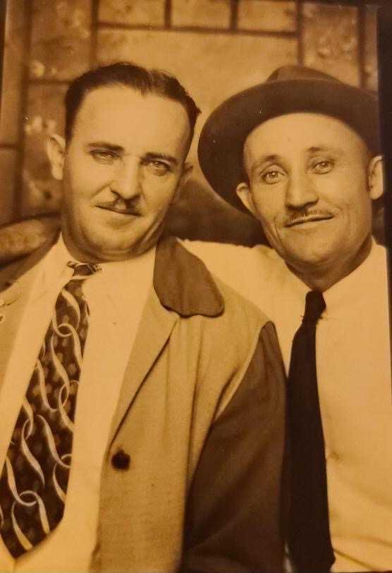 Bonnie Gillespie's grandfather edd simonds ducktown 8